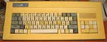Computer «Byte» with yellow body