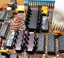 Radiators on ROM chips